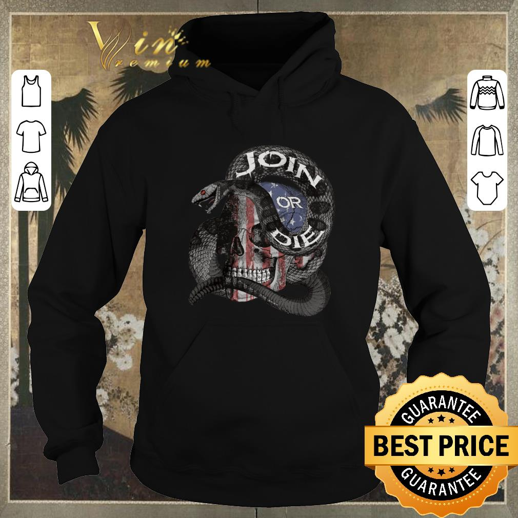 Awesome Join Or Die Snake Skull American Flag shirt sweater 4 - Awesome Join Or Die Snake Skull American Flag shirt sweater