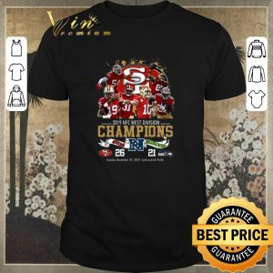 Awesome San Francisco 49ers 2019 NFC West Division Champions Seahawks shirt sweater