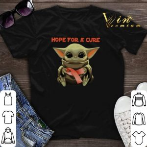 Baby Yoda Hope for a cure Multiple Sclerosis Awareness Star Wars shirt sweater