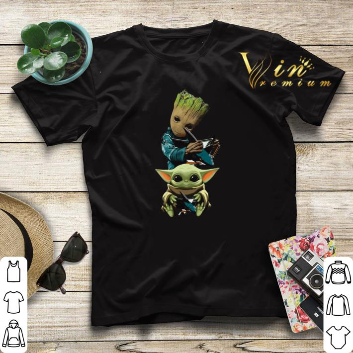 Baby Yoda and Baby Groot hug San Jose Sharks Star Wars shirt sweater 4 - Baby Yoda and Baby Groot hug San Jose Sharks Star Wars shirt sweater