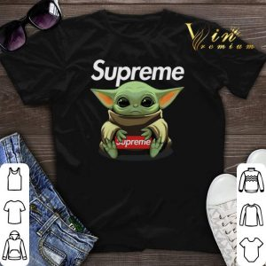 Baby Yoda hug Supreme Star Wars shirt sweater
