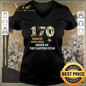 Funny 170 years of 1850 2020 Order Of The Eastern Star shirt sweater