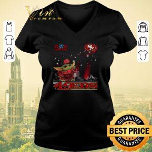 Funny 2019 Champions Baby Yoda San Francisco 49ers shirt sweater