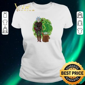 Funny The Mandalorian and Baby Yoda Crossover Rick and Morty The Child shirt sweater