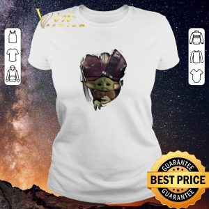 Hot Baby Yoda The Mandalorian Torn Paper Star Wars shirt sweater