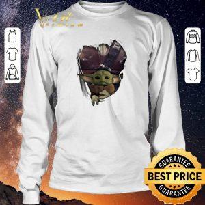 Hot Baby Yoda The Mandalorian Torn Paper Star Wars shirt sweater 2