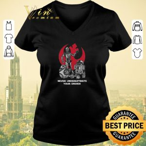Hot Never Underestimate Your Droids Star Wars shirt sweater
