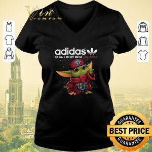 Nice Adidas All Day I Dream About Alfa Romeo Baby Yoda shirt sweater