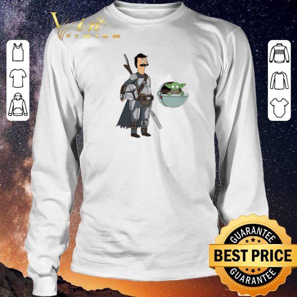 Nice Bob Fett The Mandalorian Mashup Bob's Burgers shirt sweater