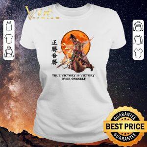 Nice Samurai true victory is victory over oneself shirt sweater