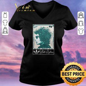 Original Adidas 2019 Bob Dylan Music Art Silk shirt sweater