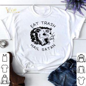 Possum Eat Trash Hail Satan shirt sweater