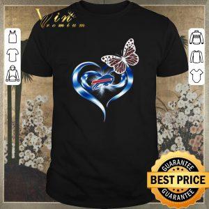 Premium Buffalo Bills love butterfly heart shirt sweater