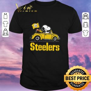Pretty Snoopy Driving Volkswagen Pittsburgh Steelers shirt sweater