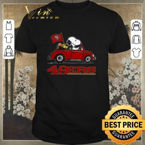 Pretty Snoopy Driving Volkswagen San Francisco 49ers shirt sweater