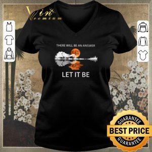Pretty There will be an answer The Beatles Let it be guitar lake shirt sweater