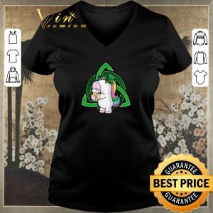Pretty Unicorn drink Beer Saint Patrick's Day shirt sweater