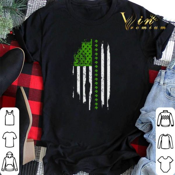 Saint Patrick's Day American Flag shirt sweater