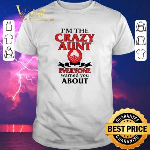 Top I'm the crazy aunt everyone warned you about shirt sweater
