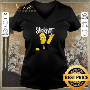 Top The Simpsons Mashup Slipknot Homer Simpson shirt sweater