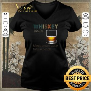 Top Whiskey definition Magic brown water for fun people vintage shirt sweater