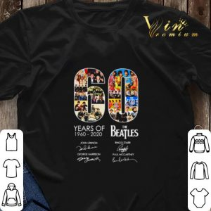 60 years of The Beatles 1960 2020 signatures autographed shirt sweater 2