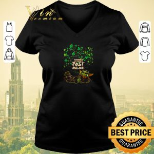 Awesome Baby Yoda Baby Groot happiness is listening to post Malone St Patrick day shirt sweater