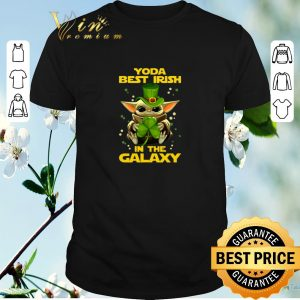 Awesome Baby Yoda Best Irish In The Galaxy Star Wars shirt sweater