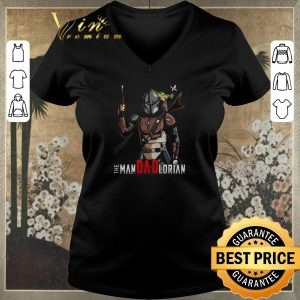 Awesome Baby Yoda and Mandalorian The Man Dad Lorian shirt sweater