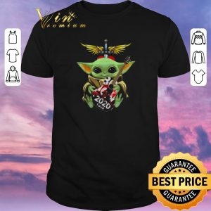 Awesome Baby Yoda hug Bon Jovi 2020 Tour Star Wars shirt sweater