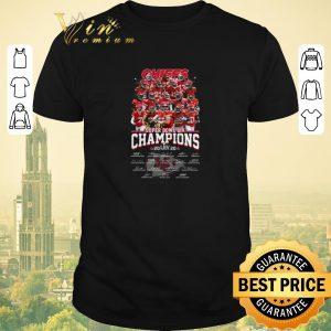 Awesome Chiefs Super Bowl Champions 2020 signatures Kansas City Chiefs shirt sweater