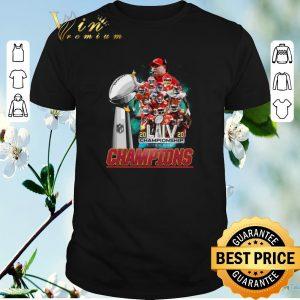 Awesome Kansas City Chiefs signature 2020 LIV Championship Super Bowl shirt sweater