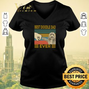 Awesome Vintage Best Doodle Dad Ever shirt sweater