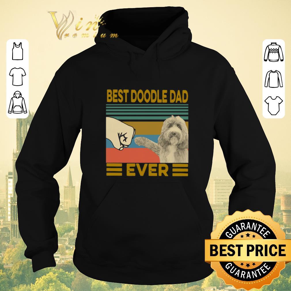 Awesome Vintage Best Doodle Dad Ever shirt sweater 4 - Awesome Vintage Best Doodle Dad Ever shirt sweater