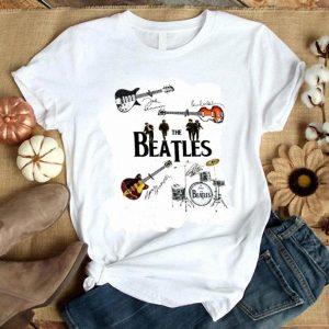 Cheap The Beatles Guitars drummer signatures shirt