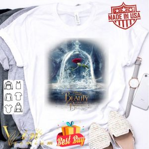 Disney Beauty And The Beast Epic Glass Rose Graphic shirt