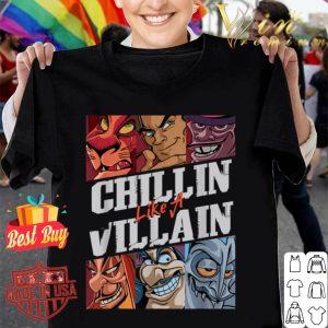 Disney Villains Chillin Like A Villain Group Shot T-shirt