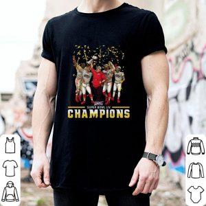 Funny Super Bowl LIV Kansas City Chiefs Champions shirt