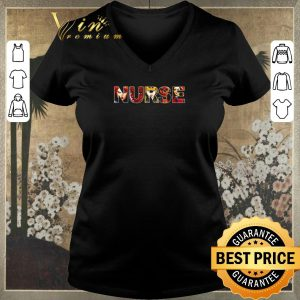 Funny Women superheroes Marvel Nurse shirt sweater