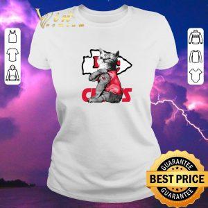 Hot Strong Cat tattoos Kansas City Chiefs shirt sweater