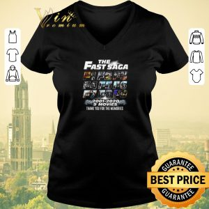Hot The Fast Saga F1-F9 2001-2020 9 movies Fast and Furious shirt sweater