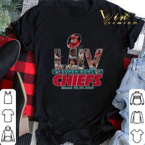 Kansas City Chiefs LIV Super Bowl Chiefs Miami 20.02.2020 shirt sweater
