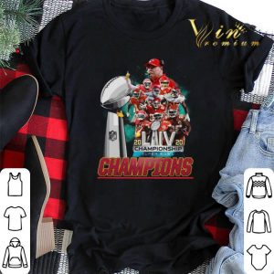 Kansas City Chiefs signature 2020 LIV Championship Super Bowl shirt sweater