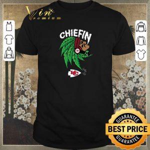 Nice Chiefin weed smoking Indian Kansas City Chiefs Champions shirt sweater