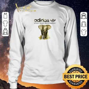 Nice addicted adidas all day I dream about Elephant shirt sweater 2