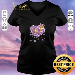 Official Cat mom purple rose flowers shirt sweater