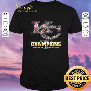 Official Kansas City Chiefs Super Bowl Liv Champions Hard Rock Stadium shirt sweater