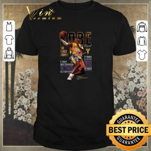 Official Kobe Bryants The Black Mamba 5 Times NBA Champions Signature shirt sweater