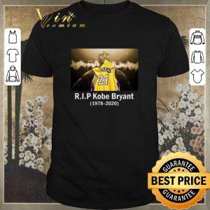 Official R.I.P Kobe Bryant 24 Black Mamba 1978 2020 shirt sweater