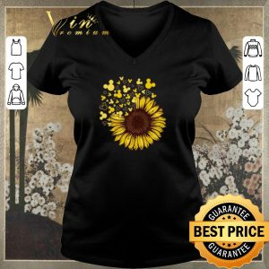 Official Sunflower mashup Mickey head shirt sweater